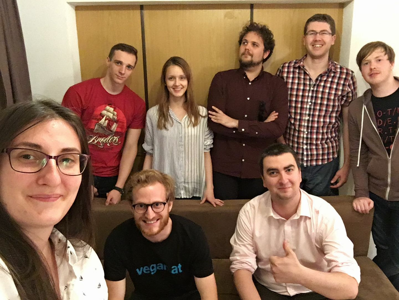 MEU Vienna 2017 Organizing Team - Martin, Marika, Carlos, Joerg, Andreea, Thomas & Plamen. Missing: Mine-Anna & Gerald